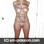 Esclave soumise a Caen pour jeux débridés