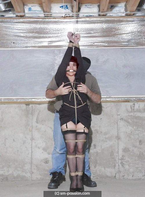 Femme soumise chinoise aimant le bondage cherche vrai shibariste